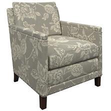 Charlotte Linen Ridgefield Chair
