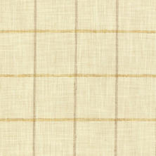 Chatham Tattersall Gold/Natural Upholstery Swatch