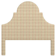 Chatham Tattersall Brick/Brown Montaigne Headboard