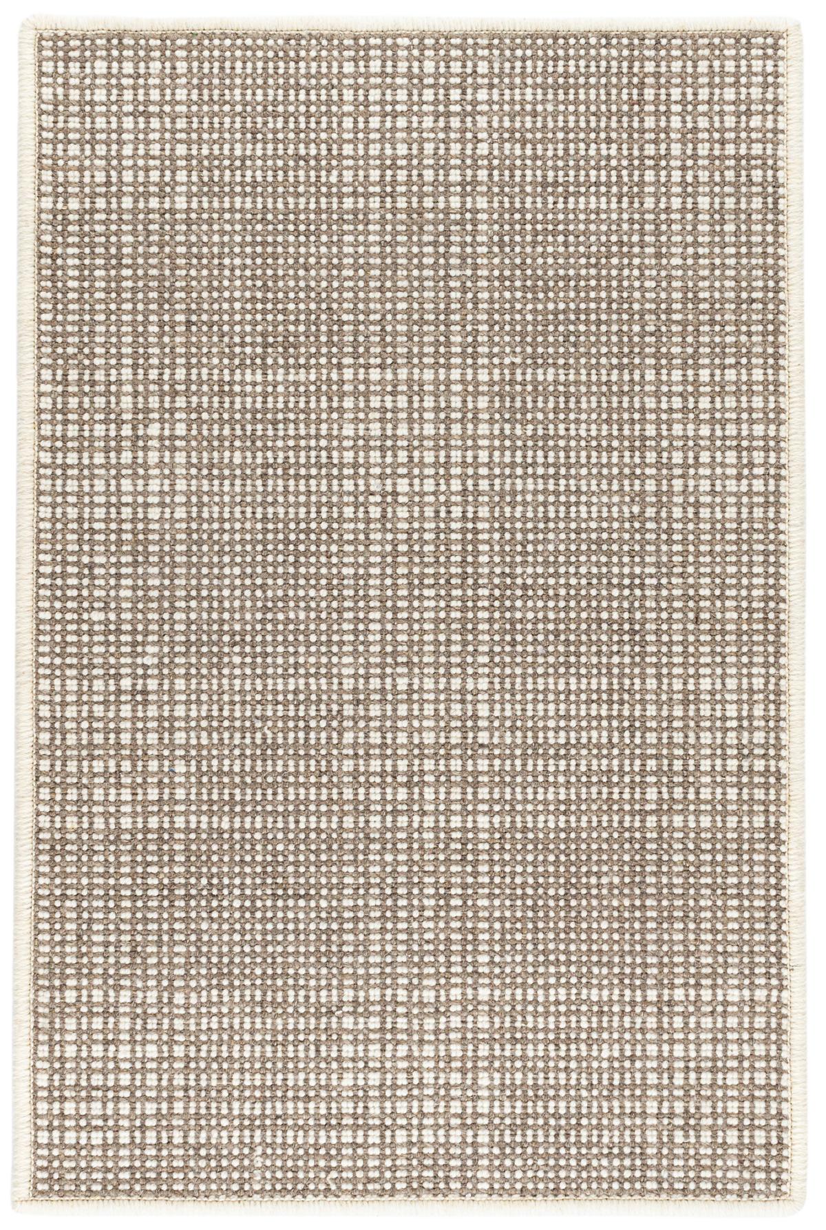 Checkers Flint Woven Wool Rug