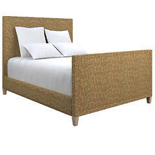 Cheetah Linen Colebrook Whitewash Bed