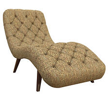 Cheetah Linen Copenhagen Chaise