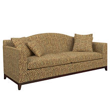 Cheetah Linen Marseille Sofa