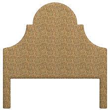 Cheetah Linen Montaigne Headboard