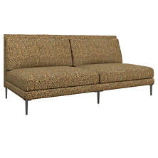 Cheetah Linen Portola Sofa