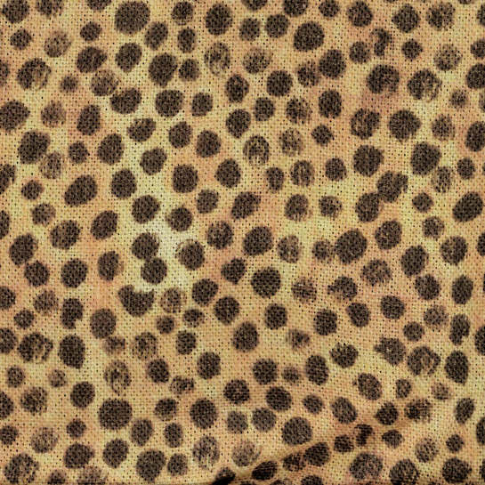 Cheetah Linen Swatch