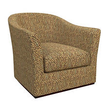 Cheetah Linen Thunderbird Chair