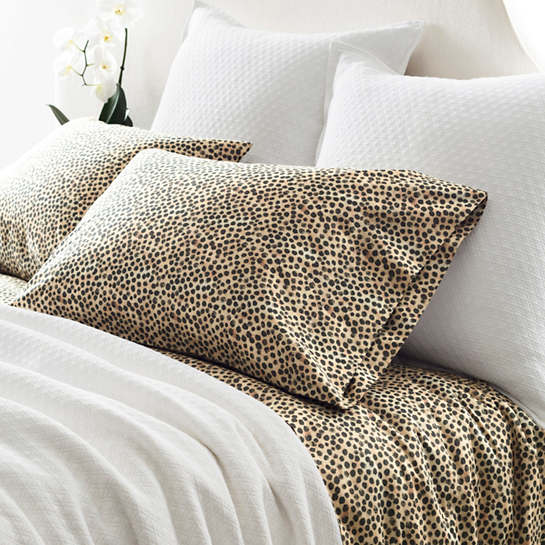 Cheetah Sateen Pillowcases