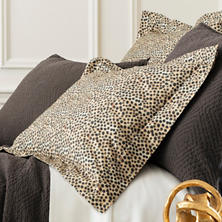 Cheetah Sateen Sham