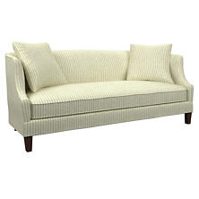 Adams Ticking Light Blue Cheshire Sofa