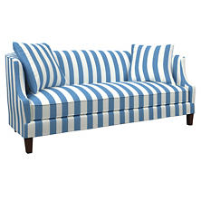 Alex French Blue Cheshire Sofa