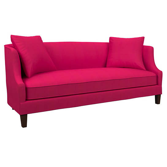 Estate Linen Fuchsia Cheshire Sofa