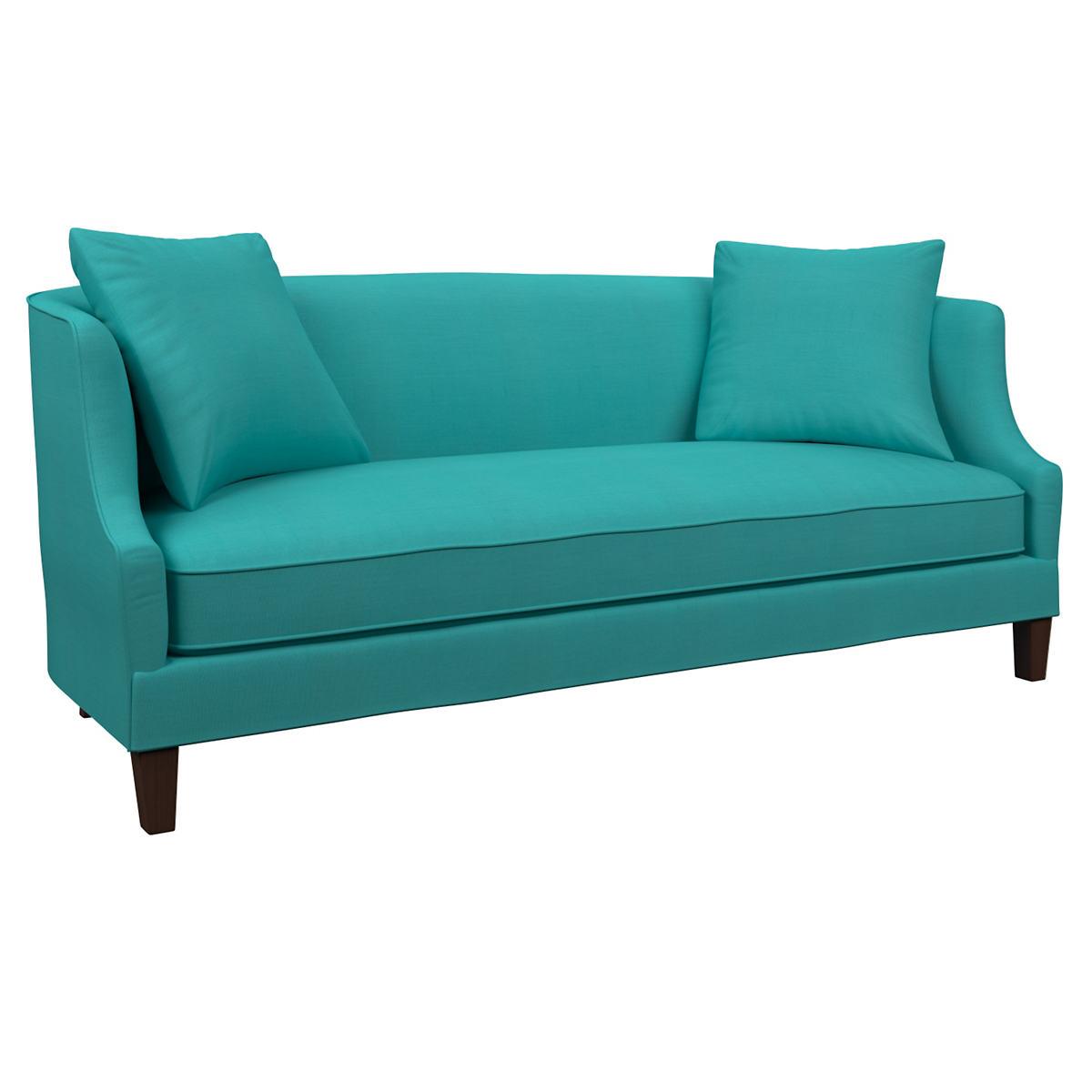 Estate Linen Turquoise Cheshire Sofa