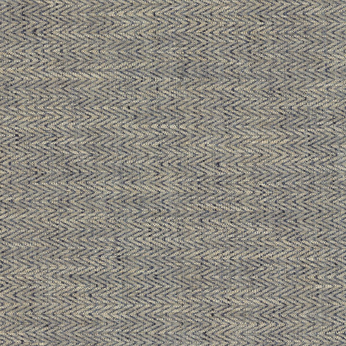 Chevron Indigo Fabric