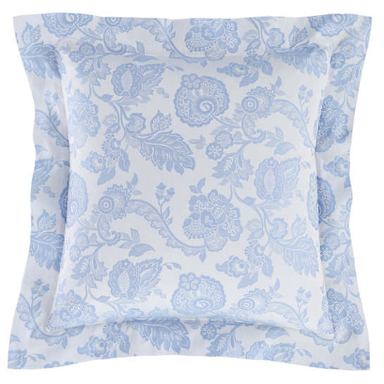 Chinois Damask Delphinium Pillowsham