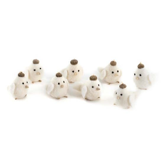 Chirp Ornament/Set Of 8