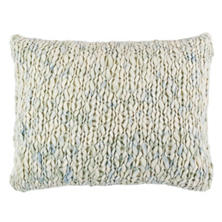 Chunky Knit Mist Decorative Pillow