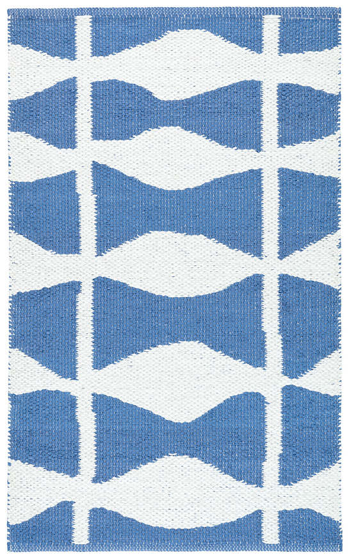 Circuit French Blue Indoor/Outdoor Rug