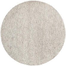 Citra Grey Hand Knotted Rug Round