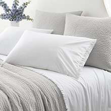 Classic Ruffle White Sheet Set