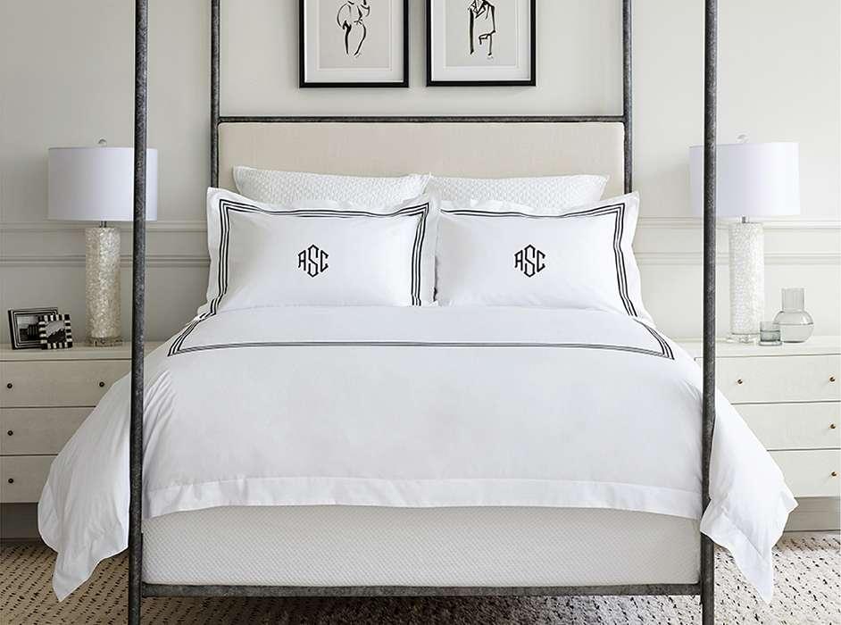 Trio Black Bedroom