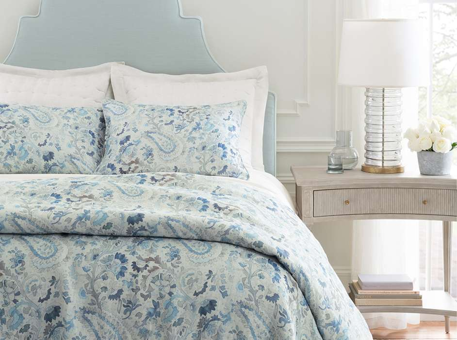 Ines Blue Bedroom