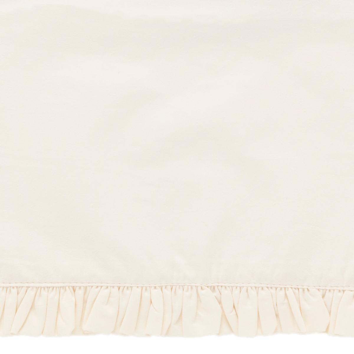 Classic Ruffle Ivory Sheet Swatch