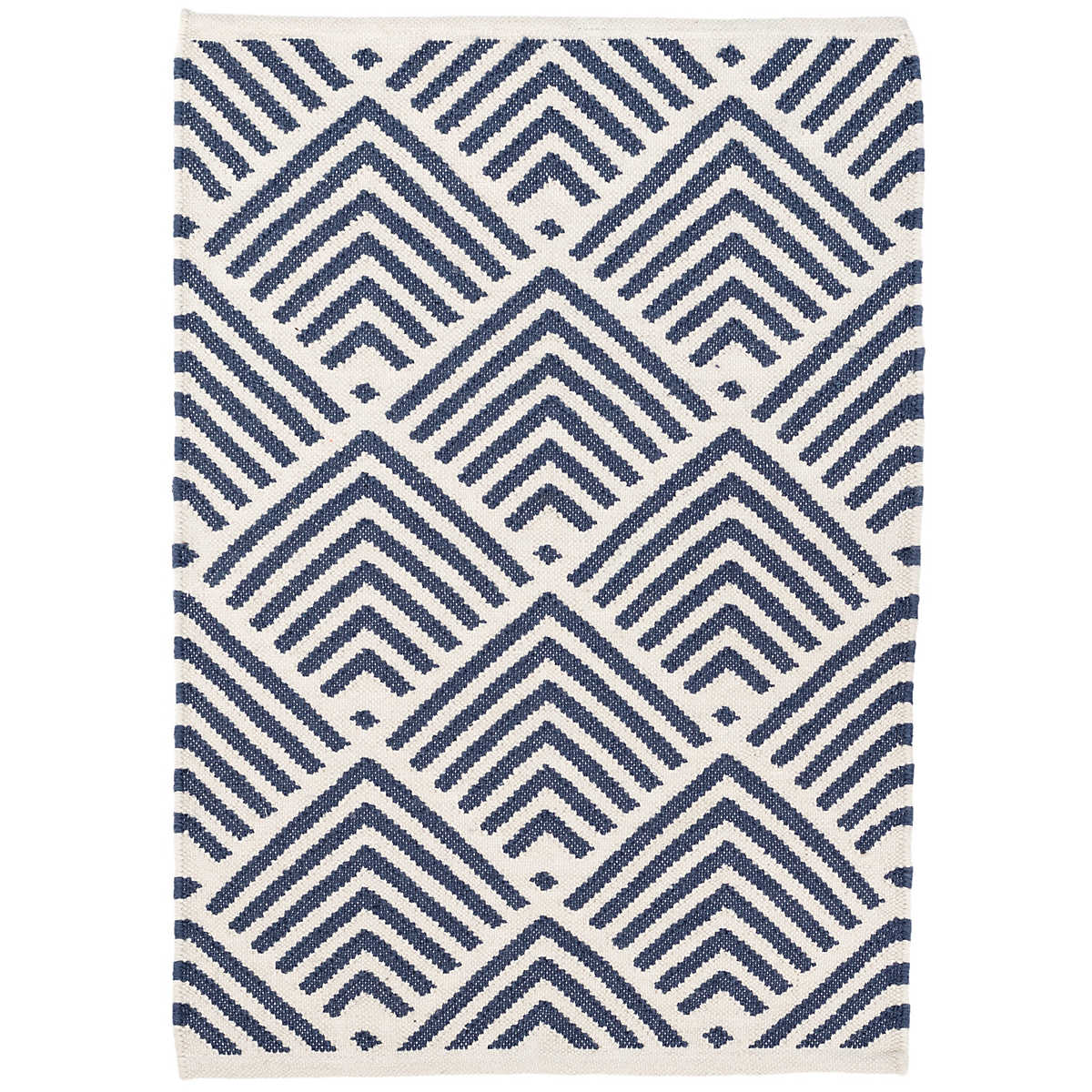 Cleo Navy Indoor/Outdoor Rug | Dash & Albert