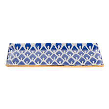 Cobalt Chatterly Flame Cocktail Tray