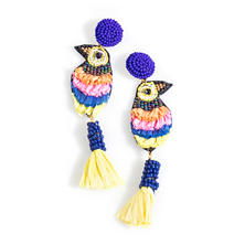 Cobalt Fiesta Earrings