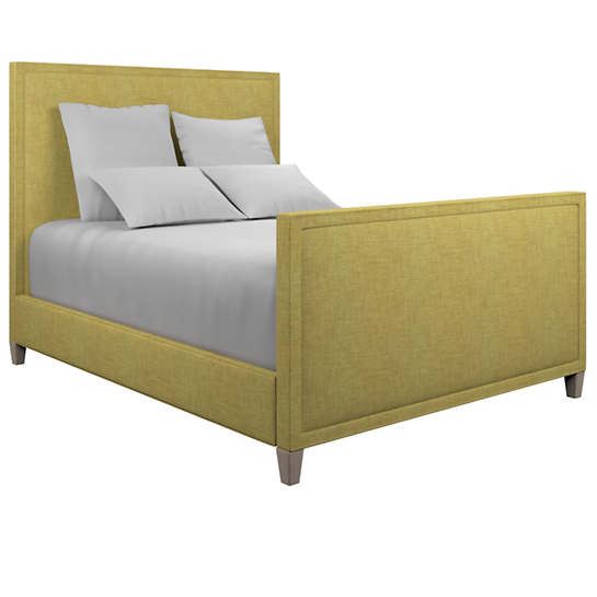 Canvasuede Citrus Colebrook Whitewash Bed