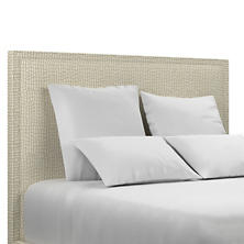 Pebble Ivory Colebrook Smoke Headboard