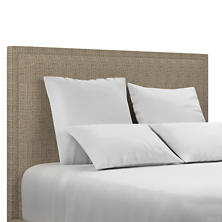 Pebble Sand Colebrook Smoke Headboard