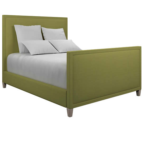 Estate Linen Green Colebrook Whitewash Bed
