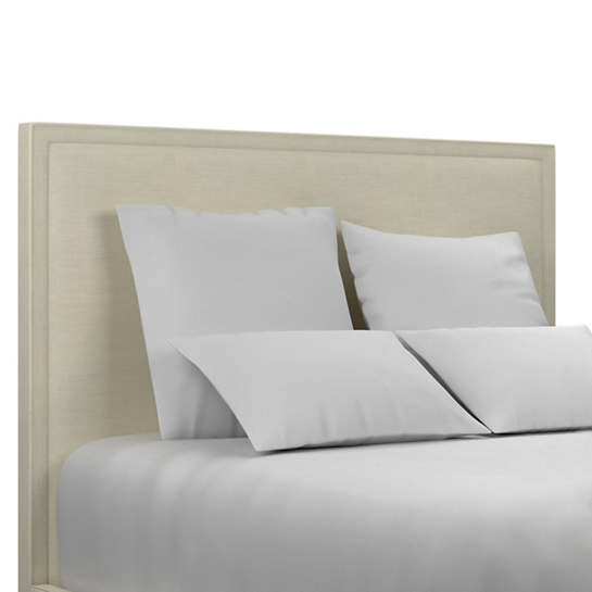 Estate Linen Ivory Colebrook Whitewash Headboard