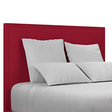 Estate Linen Red Colebrook Whitewash Headboard