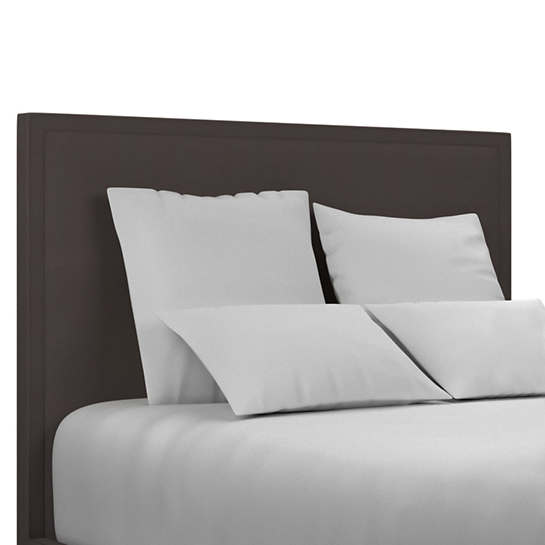 Estate Linen Shale Colebrook Whitewash Headboard