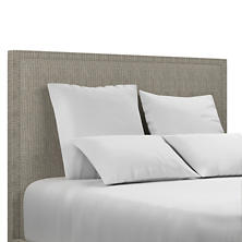 Pebble Grey Colebrook Whitewash Headboard
