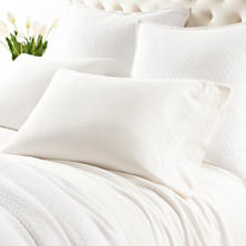 Comfy Cotton Dove White Sheet Set