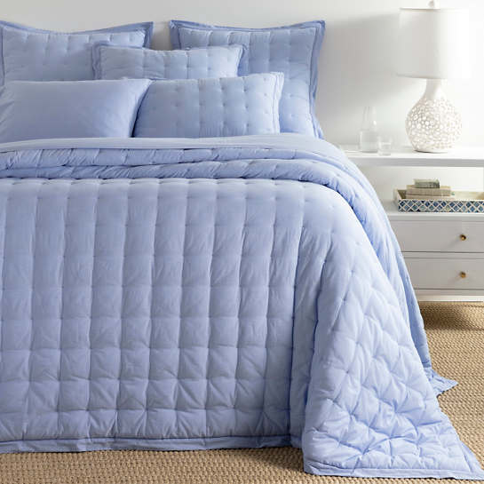 Comfy Cotton French Blue Puff