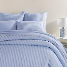 Comfy Cotton French Blue Quilt