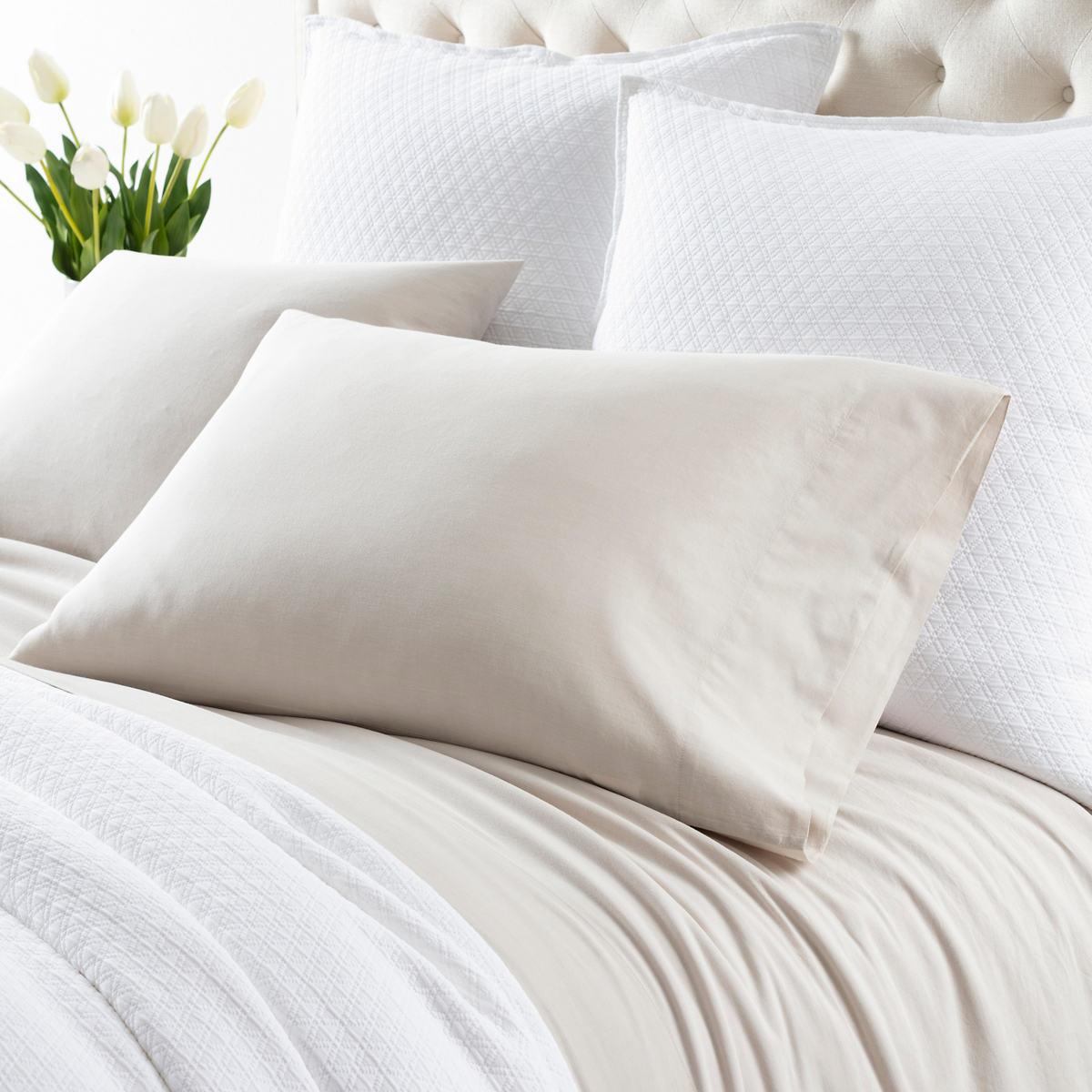 Comfy Cotton Natural Pillowcases