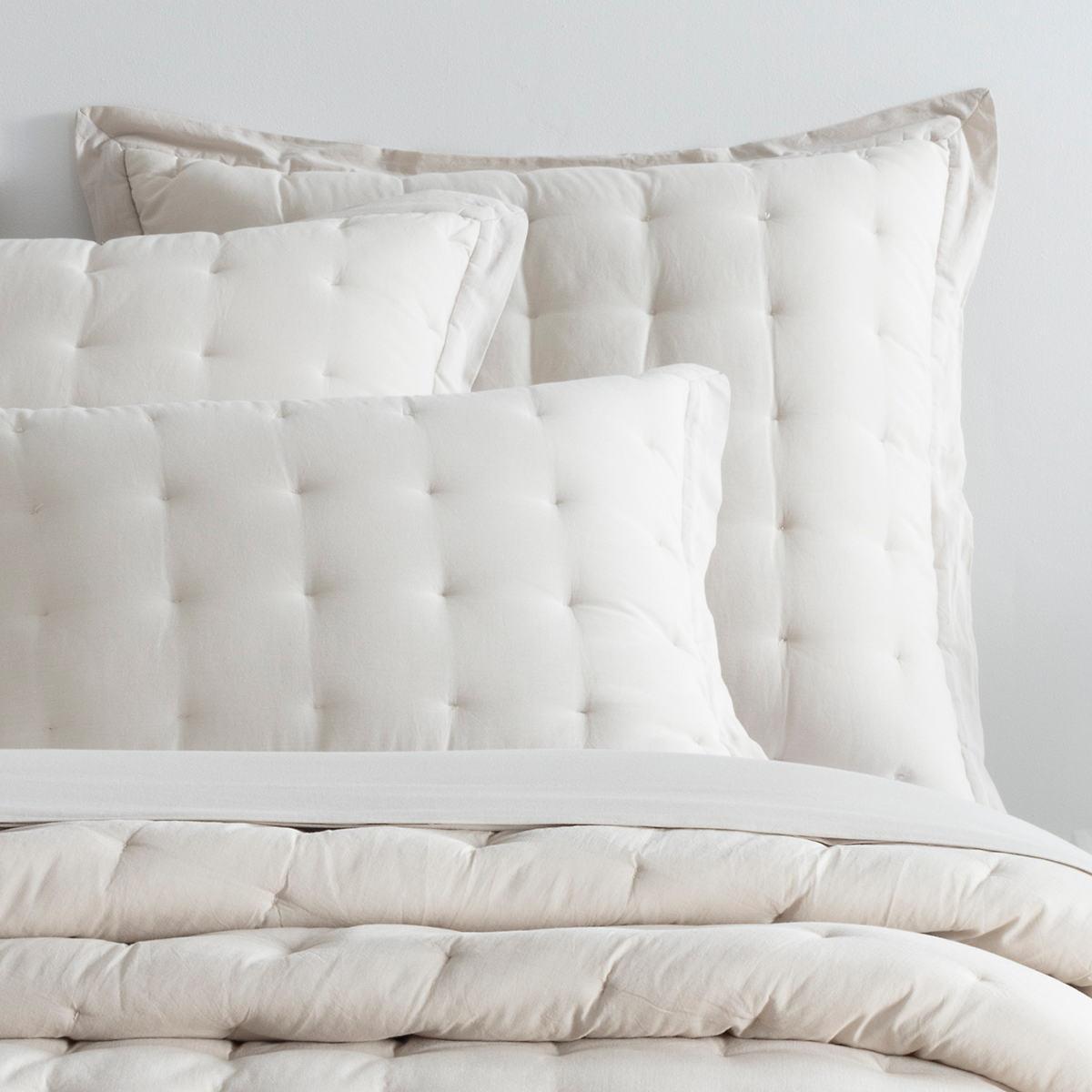 Comfy Cotton Natural Puff Sham