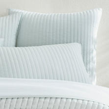 Comfy Cotton Sky Quilted Sham