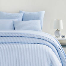Comfy Cotton Soft Blue Quilt