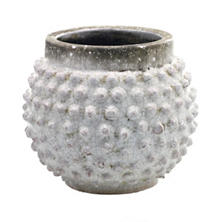 Concrete Pebble Pot