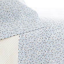 Confetti French Blue/Indigo Sheet Set