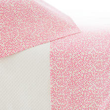 Confetti Fuchsia/Coral Pillowcases (Pair)