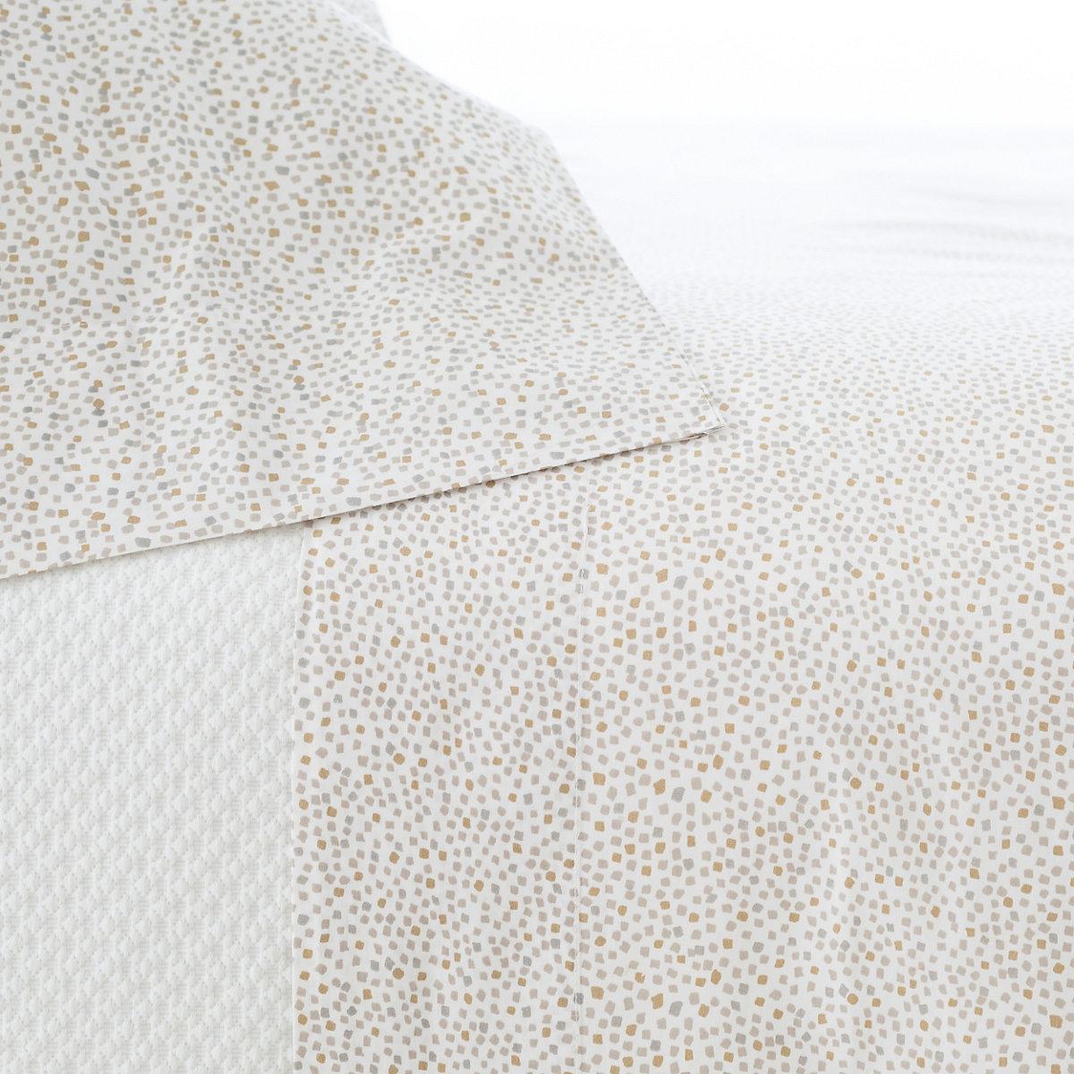 Confetti Grey Linen Sheet Set The Outlet