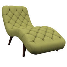 Estate Linen Green Copenhagen Chaise